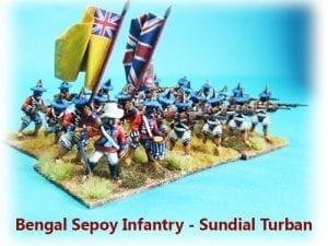 Bengal Sepoys - Sundial Turban