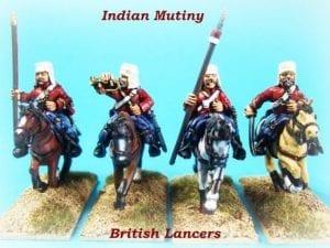 28mm British Lancers