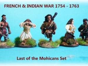 'Last of the Mohicans' Movie Characters