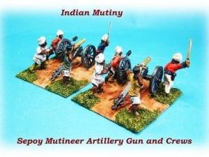 28mm Mutineer Artillery