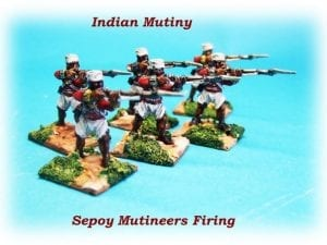 28mm Sepoy Mutineers