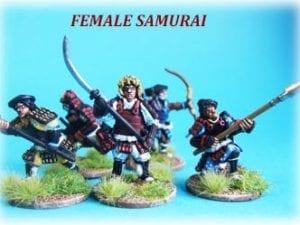 Female Samurai Warriors