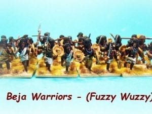 Beja Warriors - Fuzzy Wuzzy
